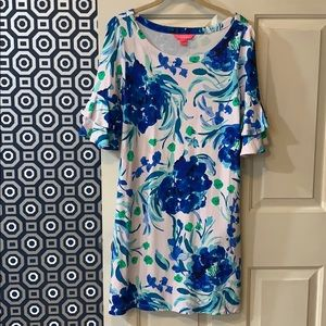 Lilly Pulitzer Dress with ruffle sleeve